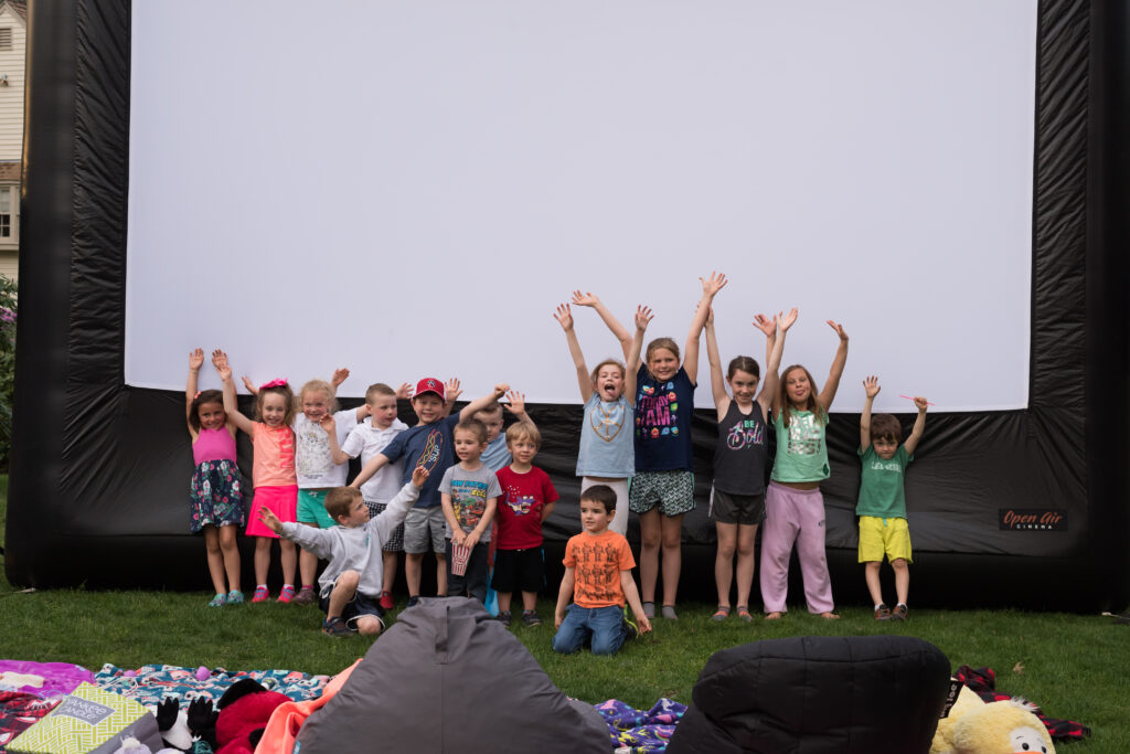 outdoor movie, Celebrate the End of School with an Outdoor Movie, Press Play Outdoors Blog